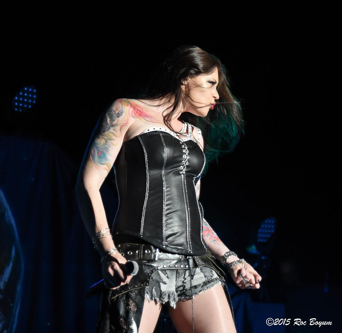 Floor Jansen Floor Jansen Of Nightwish Part 2 LA METAL MEDIA
